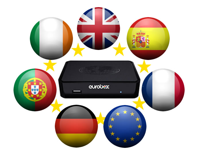 UK TV in Spain, France, Portugal, Germany, Europe, Worldwide